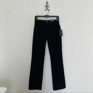 NYDJ Black Bootcut Jeans Size 0
